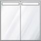 Diamando - 31.25 - 2 Door - Centered