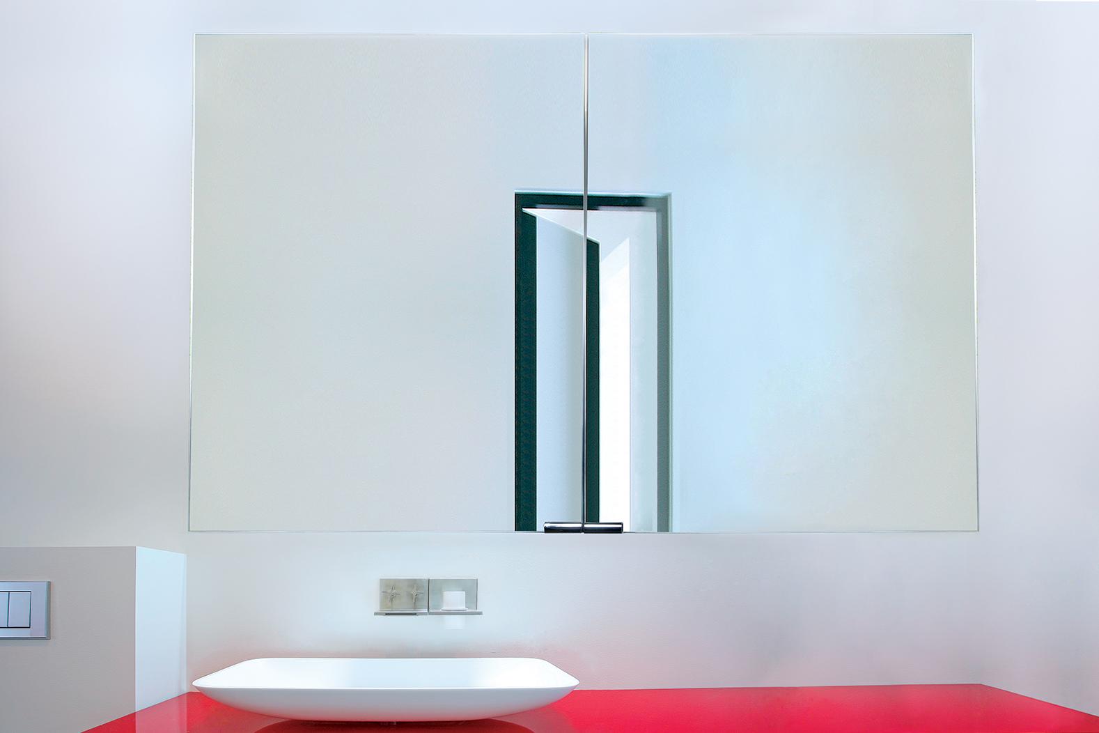 Sidler Diamando Collection Mirrored Bathroom Cabinets
