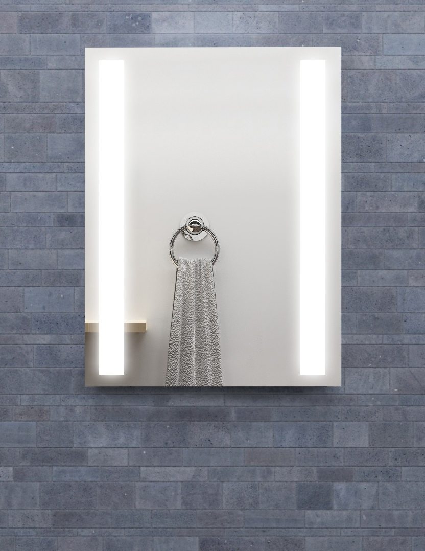 Sidelight Mirrored Medicine Cabinet