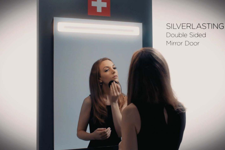 SilverLasting Double-sided Mirror Doors