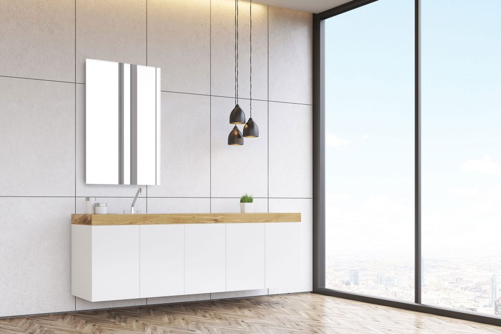SIDLER Modello Mirrored Cabinet