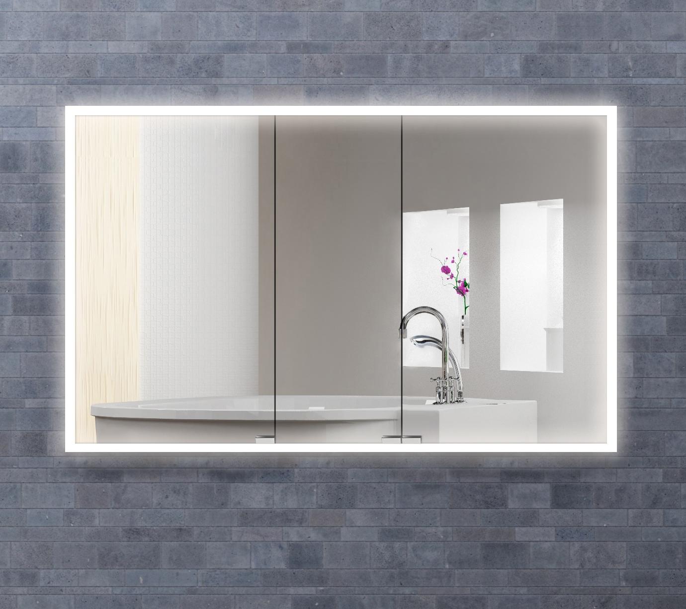Quadro Mirrored Medicine Cabinet