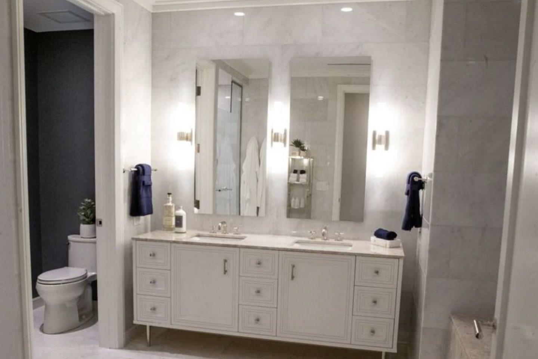 Trubune Tower Master Bathroom