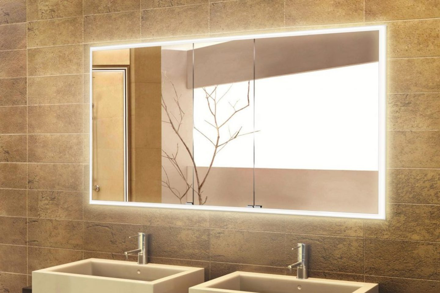 BRIGHTEN YOUR BATHROOM WITH A TRIPLE DOOR QUADRO