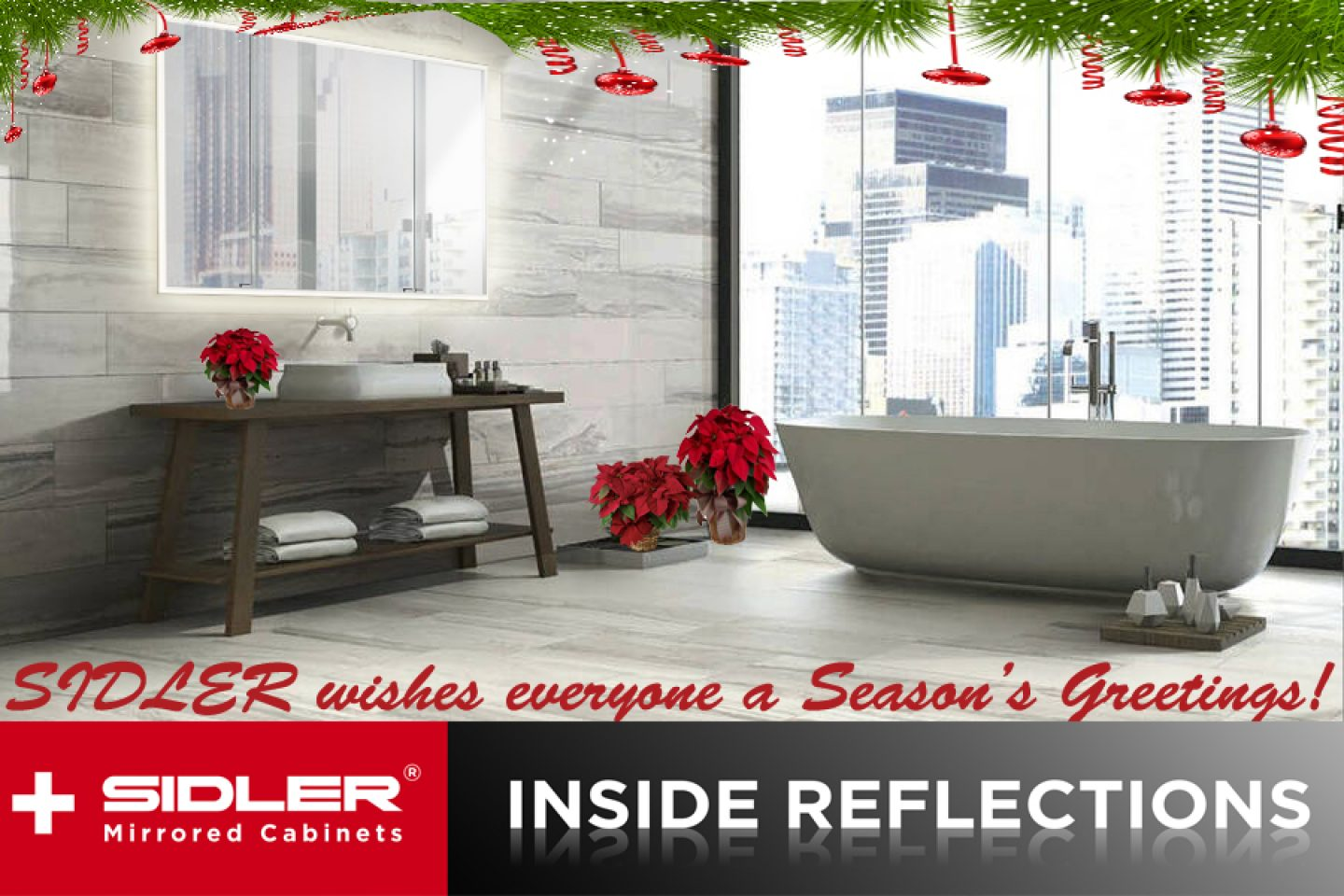 December 2020-SIDLER, INSIDE REFLECTIONS - Seasons Greetings-Bathroom Design Trends 2021