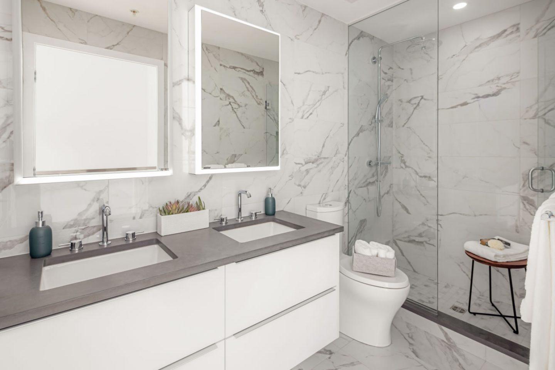 Kai Kitsilano Bathroom Full Light
